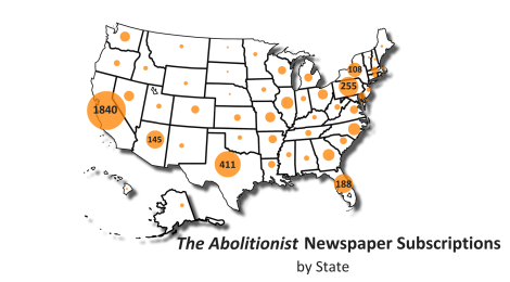 The New Issue of The Abolitionist Is Here!  A message from a member.