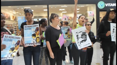 VIDEO:  CRITICAL RESISTANCE LOS ANGELES TAKES ACTION AGAINST WOMEN'S JAIL!