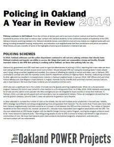 Policing Year in Review 2014