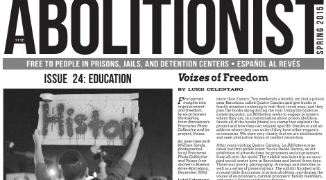 Issue 24 of The Abolitionist is Here
