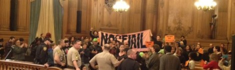 Community Activists Shut Down Board Chambers to Demand No New SF Jail (Dec 2, 2015)
