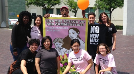 CR Los Angeles marks Mothers' Day by fighting proposed new jail