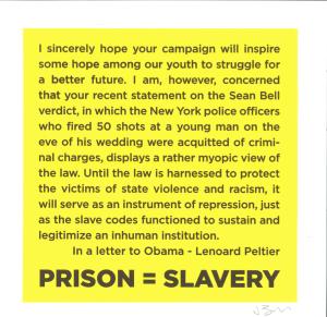 Prisons=Slavery 2