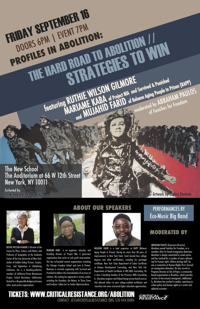 Profiles in Abolition: Highlighting Ongoing Struggle to Abolish the