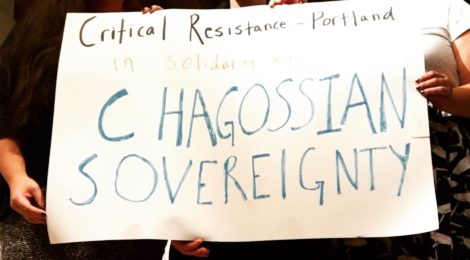 CR Portland Members Show Solidarity with Chagossian Sovereignty