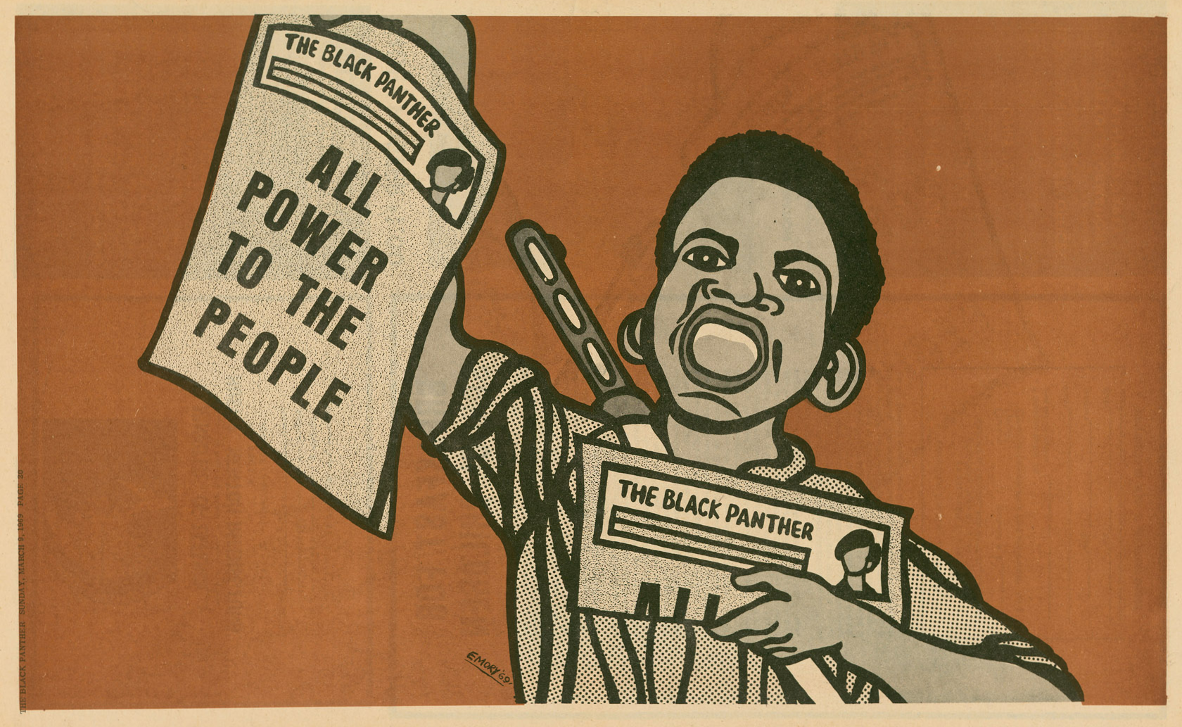 the contribution of the black panther party in the art of propaganda