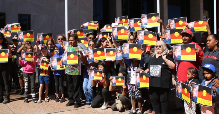 Shut Youth Prisons Mparntwe, Australia