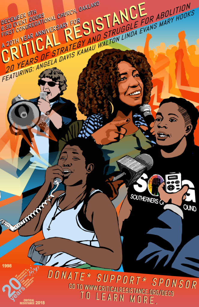 Critical Resistance: 0 YEARS OF STRATEGY AND STRUGGLE TO DISMANTLE THE PRISON INDUSTRIAL COMPLEX @ First Congregational Church of Oakland | Oakland | California | United States