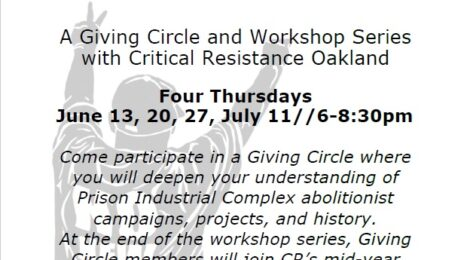 Summer Giving Circle and Workshop Series with CR Oakland